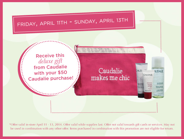 Cosmetic Market Caudelie gift