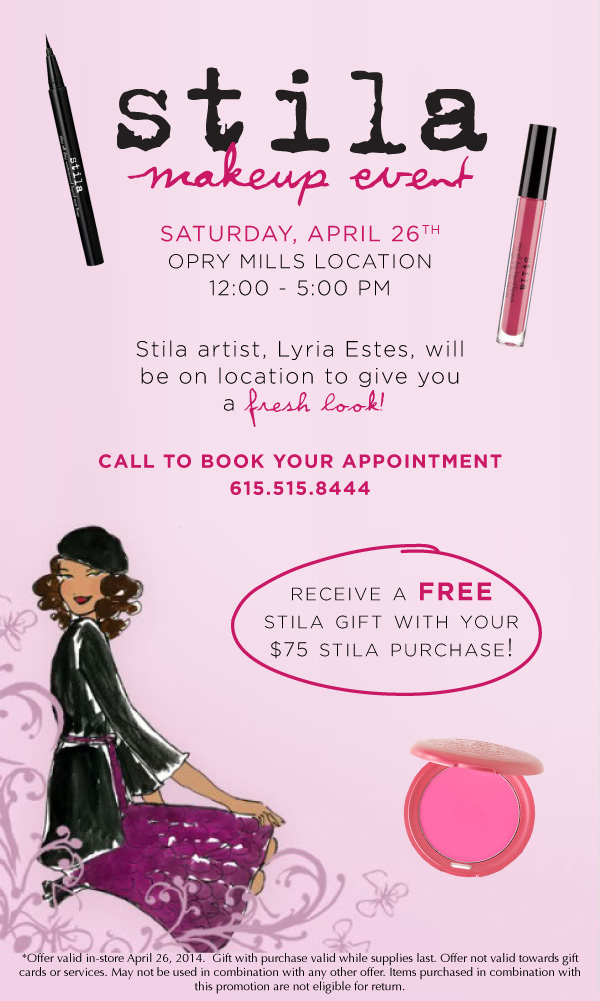 Cosmetic Market Stila Event