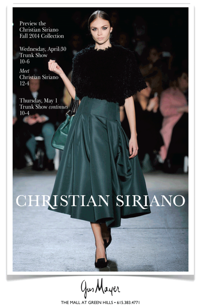 Gus Mayer Christian Siriano