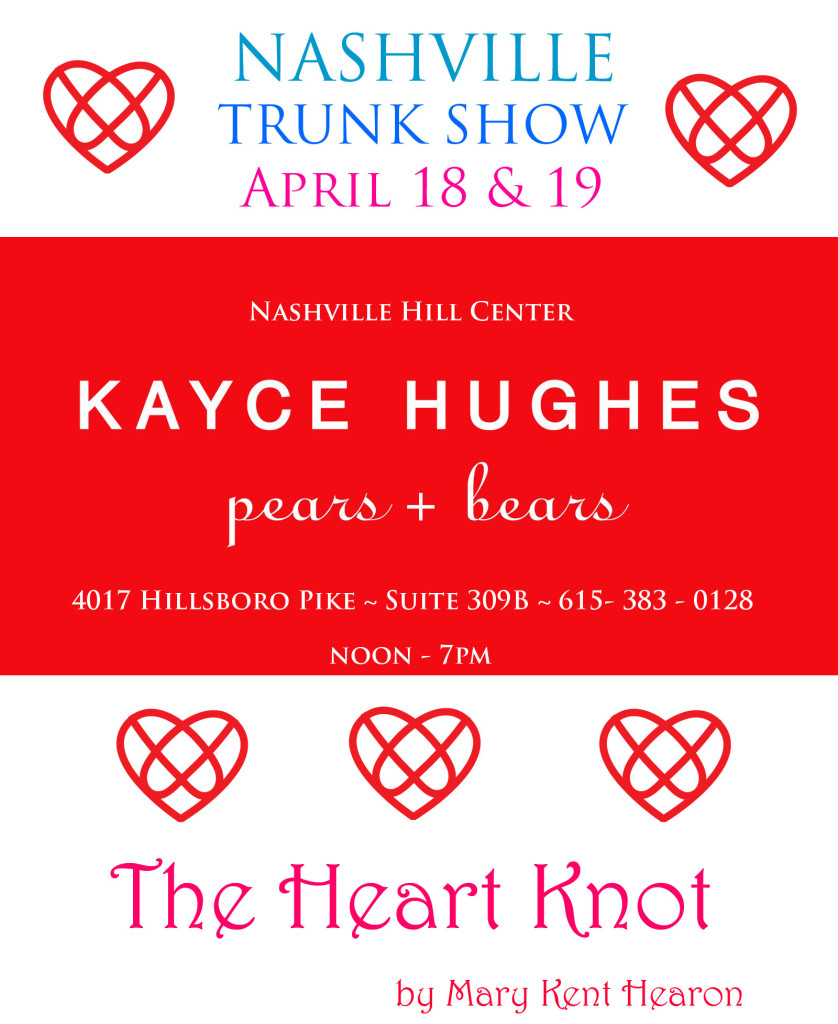 Heart Knot Kaycee Huges