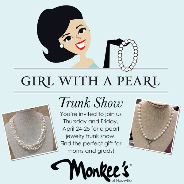 Monkee's Girl with a pearl