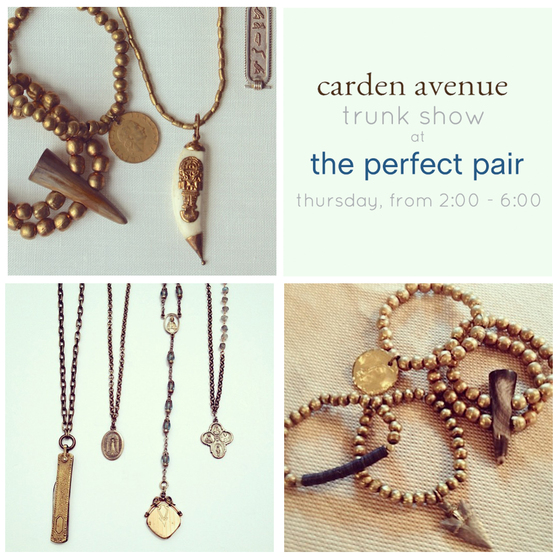 perfect pair carden trunk show