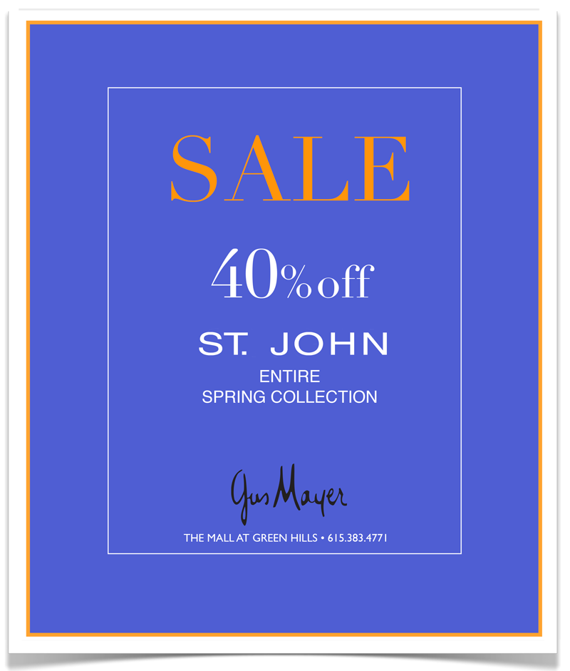 Gus Mayer St John Sale