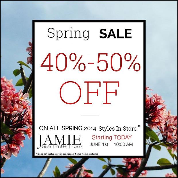 Jamie Spring Sale