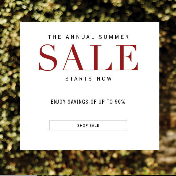 Billy Reid Summer Sale