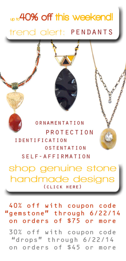Whats in store pendant sale