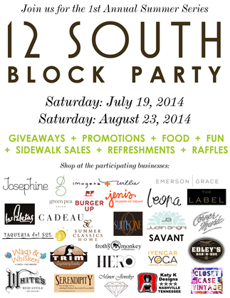 12 South Block Party
