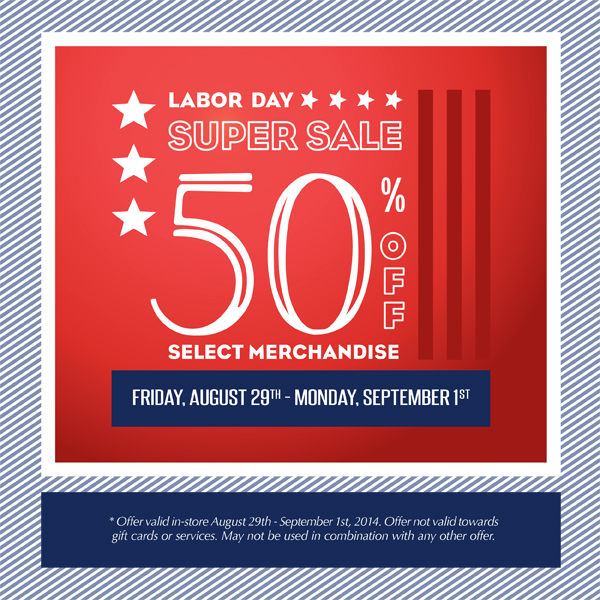 Cosmetic Market Labor Day
