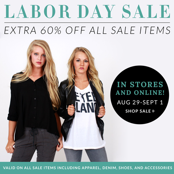 SOCA Labor Day Sale