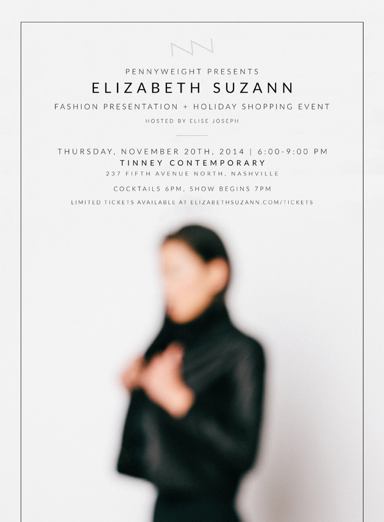 Elizabeth Suzann fashion presentation