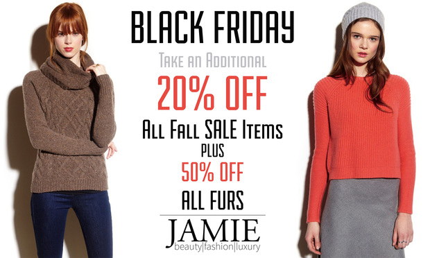 Jamie black friday