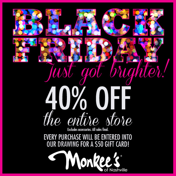 Monkees Black Friday