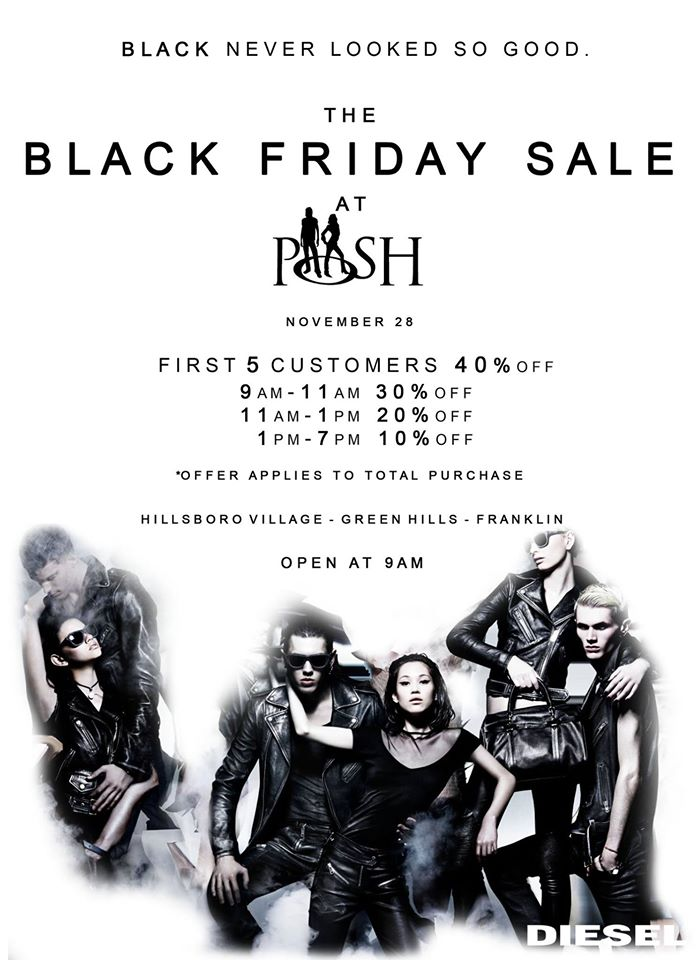 Posh black Friday