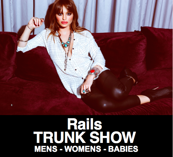 H. Audrey Rails Trunk Show