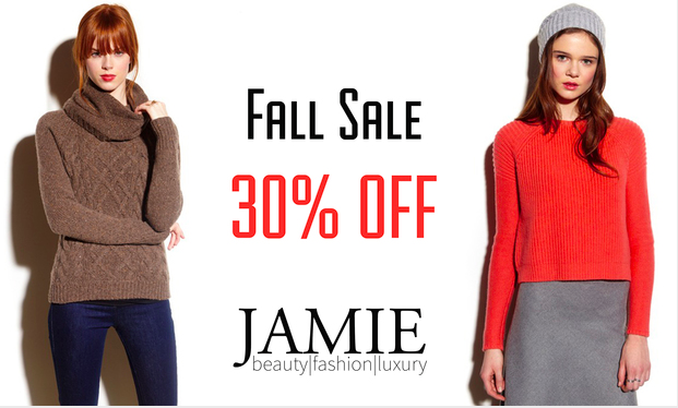 Jamie Fall Sale