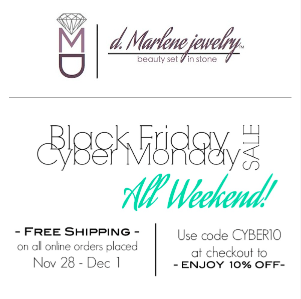 d marlene jewelry black friday