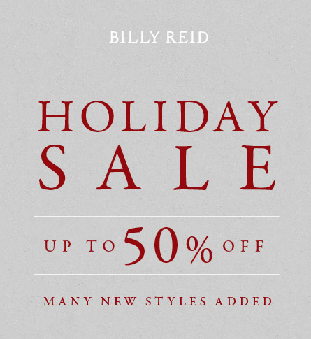 Bily Reid Holiday Sale