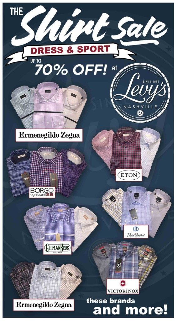 Levys Shirt Sale