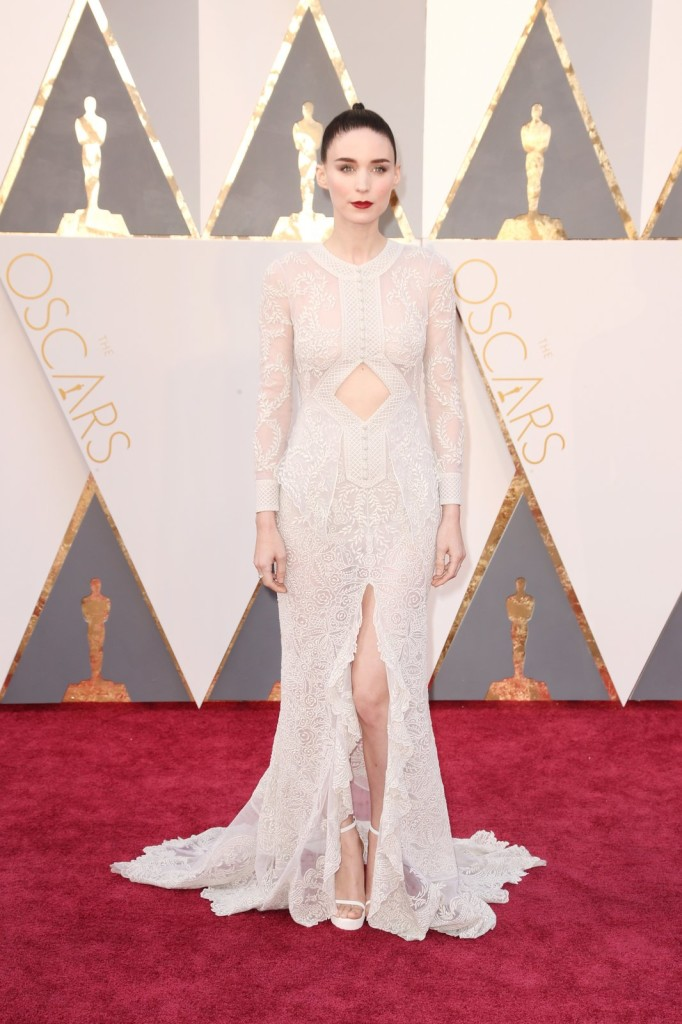 rooney mara Givenchy Haute Couture Oscars 2016 Getty Images