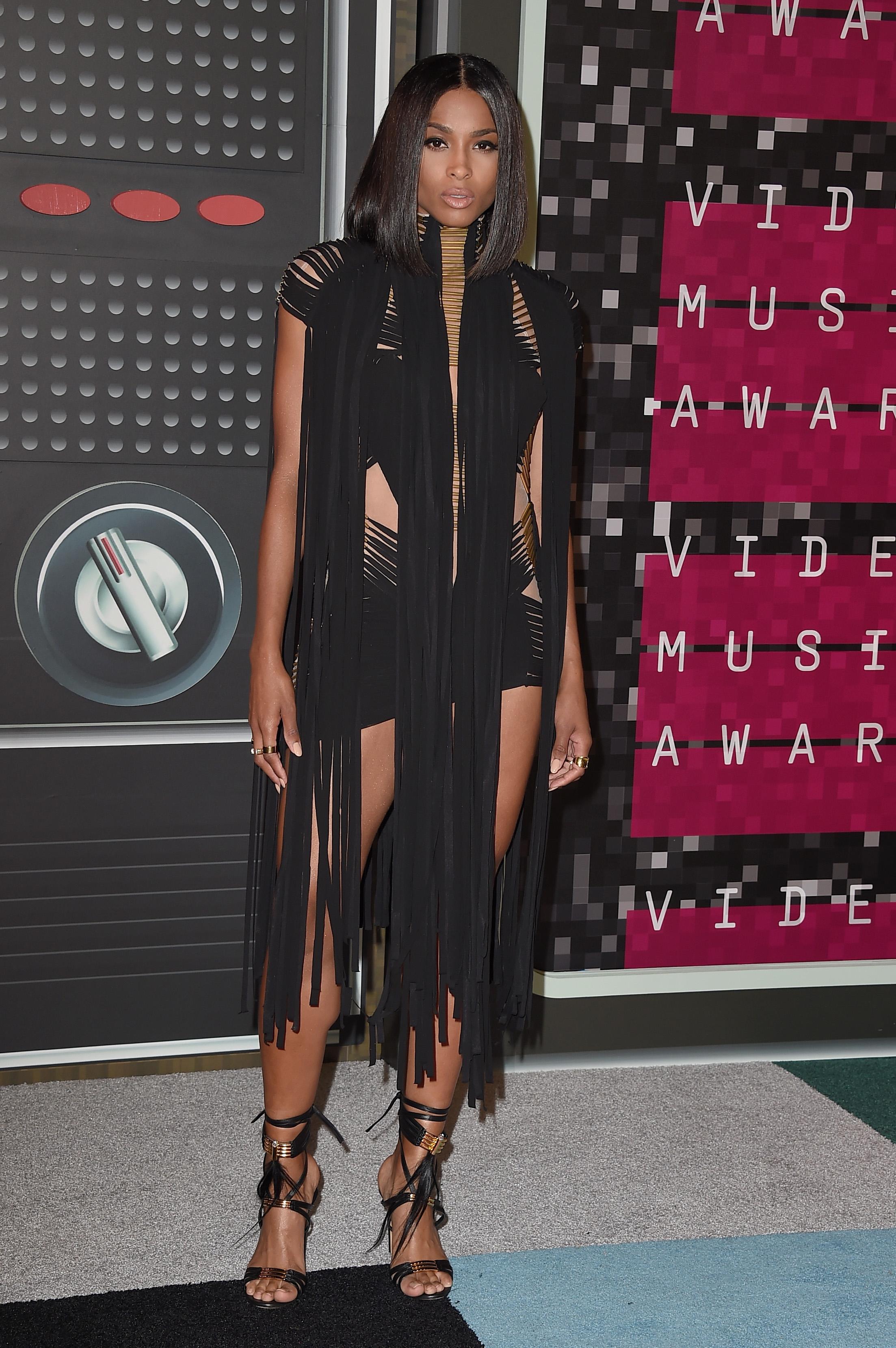 Ciara at the MTV VMAs 2015