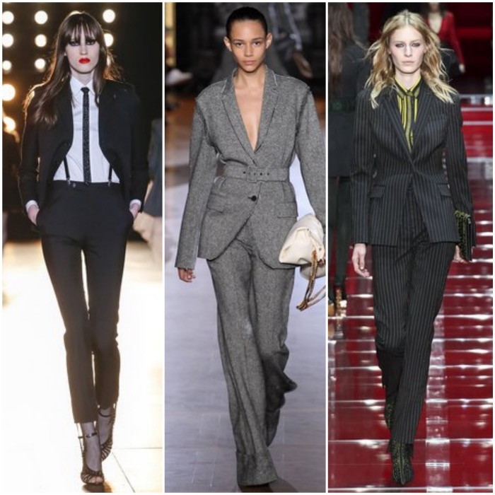 Fall Ready to Wear pantsuits