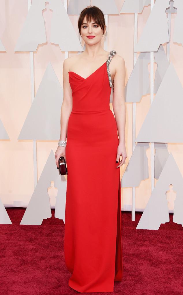 Dakota Johnson_Saint Laurent_Oscars