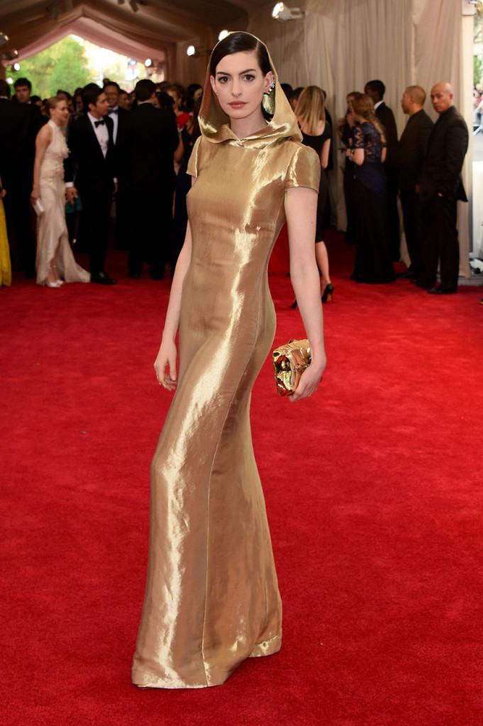 Anne Hathaway Ralph Lauren Met Gala