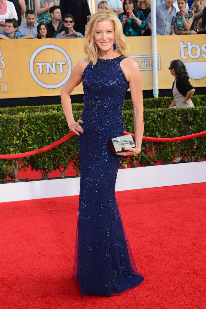 Anna Gunn Monique Lhuillier SAG Awards