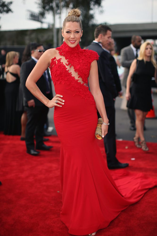 Colbie Callait Ezra Couture Grammys