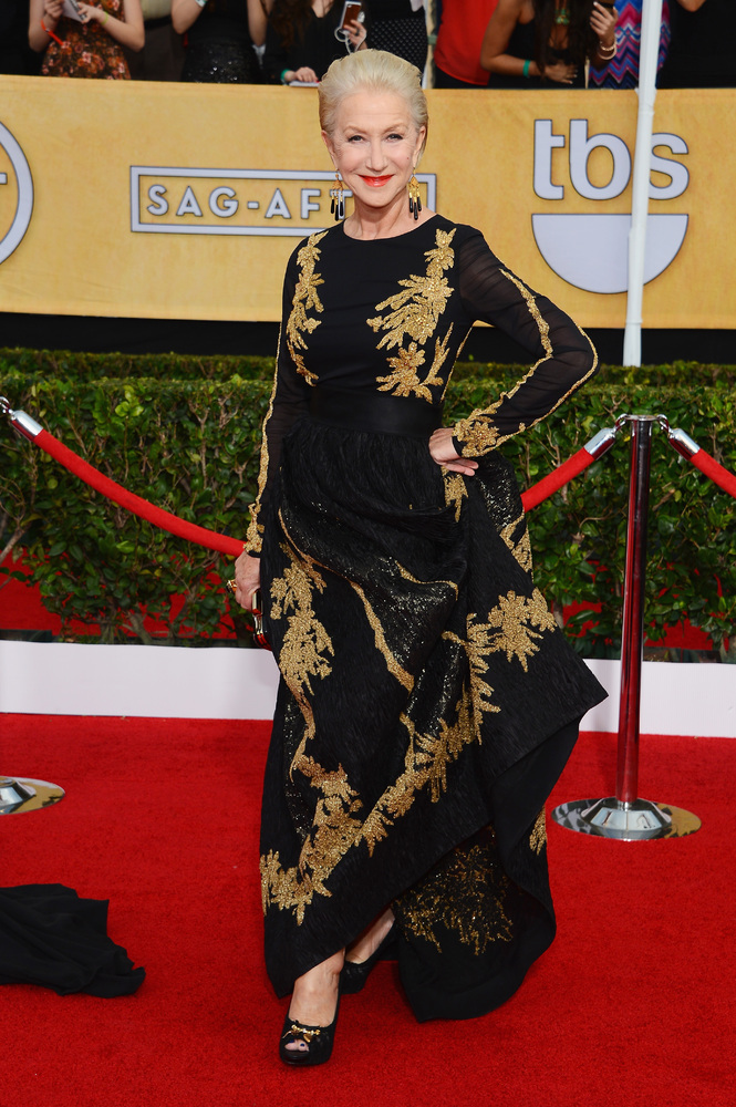 Helen Mirren Escada SAG Awards