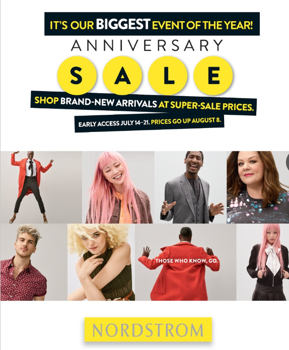 Nordstrom Anniversary Sale Cover