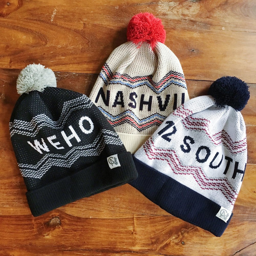 Nashville Neighborhood Hats