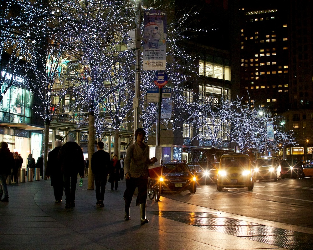 The Time Warner Center , Columbus Circle