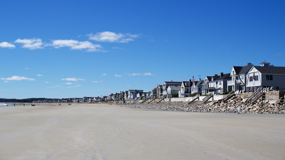 Houses Along the Beach