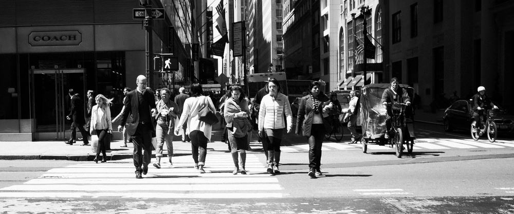Crossing Madison Avenue