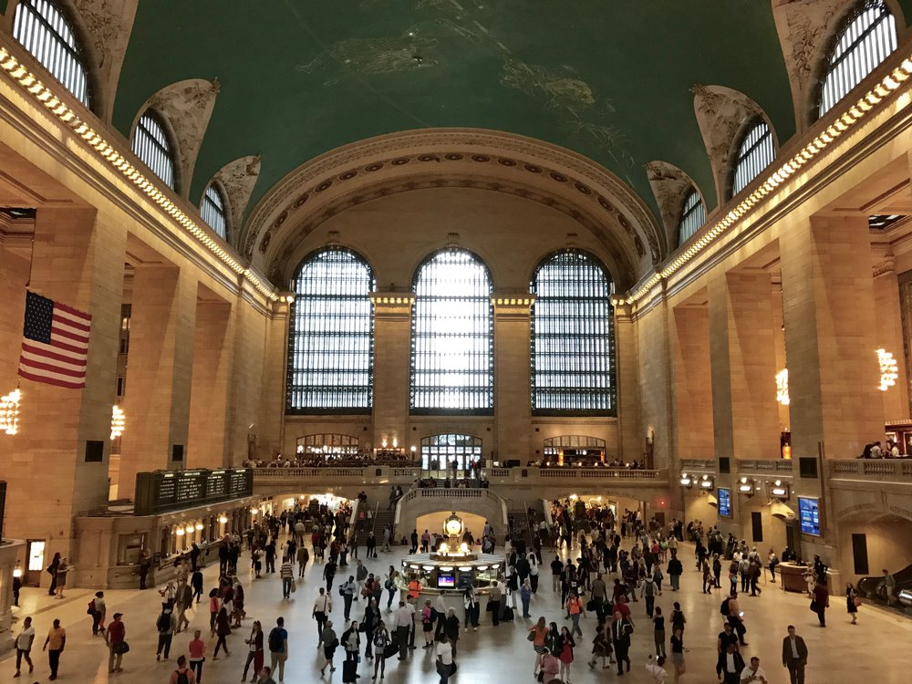 Main Concourse, Grand Central Terminal This same shot, from the balcony of the Apple Store, is probably taken thousands upon thousands of times per day.