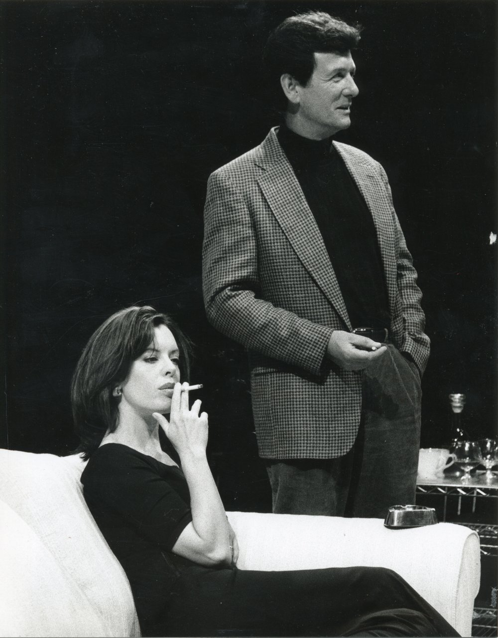 As anna in Pinter's old times, at south coast rep.