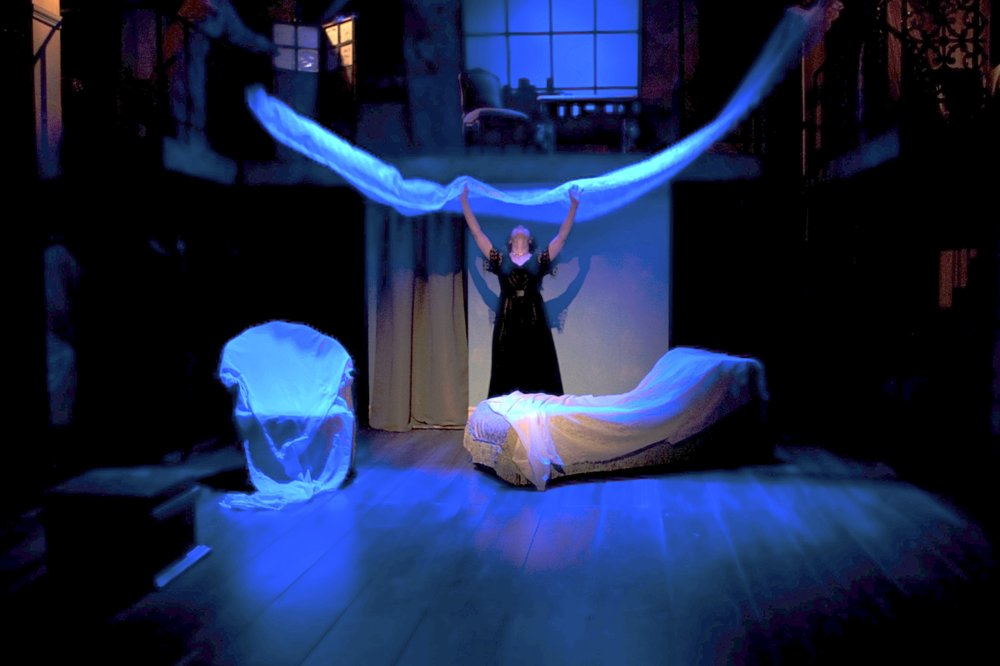 """cousin Bette"" dons her veil, in the world premiere production at antaeus."