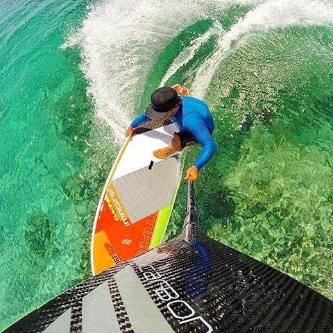 Team Rider 🔘 Wes Matweyew grabbing rail as he carves his way through the crystal clear waters of Turks & Caicos. Photo: @goprohobbit #carbonerrocam #sup #paddlesurf #stand_up_paddle #standuppaddle #standuppaddling #paddle #paddlelife #gopro #goprooftheday #gopro_epic #gopro_boss #goprorealm #turksandcaicos