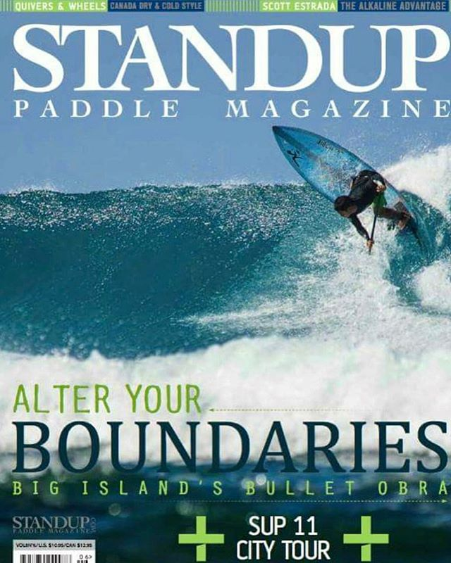 Monday morning blues the way it should be!!! Team Rider 🔘 Bullet Obra tearing off the cover of the latest issue of @standuppaddlemagazine Congrats!!!! @bulletobra @hobiestanduppaddleboards @kaenon @itakebioastin @virusintl @onitpro #paddlesurf #paddlelife #paddle #sup #stand_up_paddle #standuppaddle #standuppaddleboard #bigislandhawaii #supsurf #islandstyle #mondaymorning #mondayblues