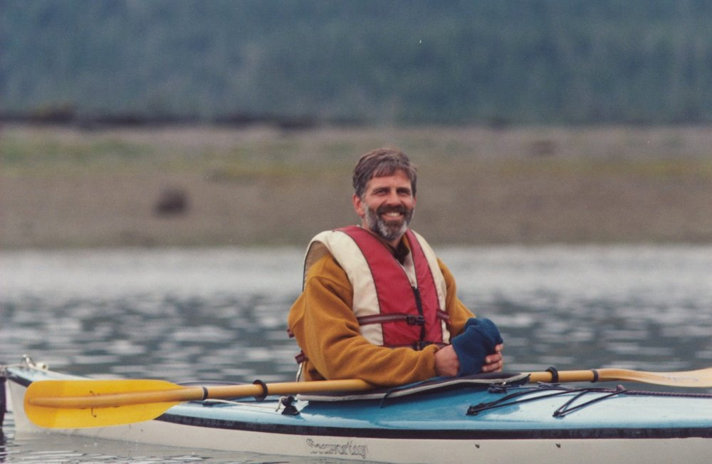 A younger Kurt, leading one of his early Inside Passages meditation retreats in Rocky Pass, Southeast Alaska
