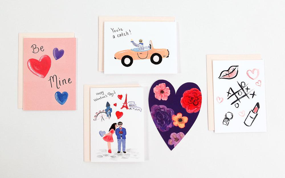 Valentine Cards   Sarah Jane Delk