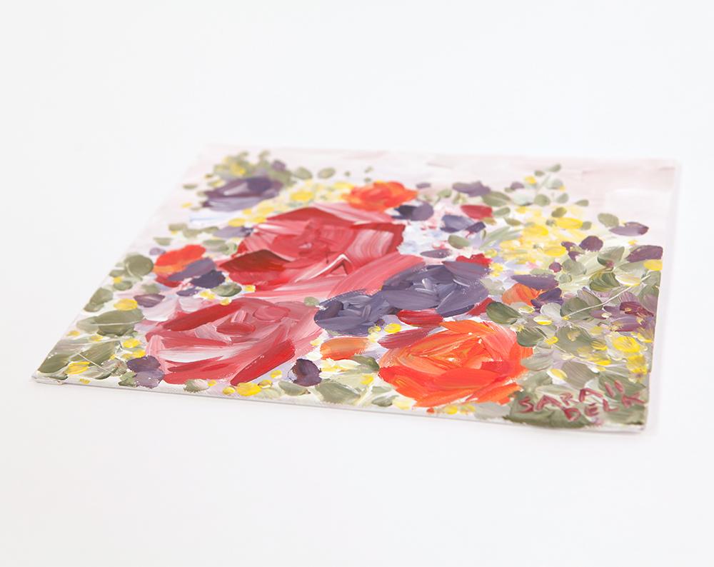 Bouquet Acrylic Painting | Sarah Jane Delk