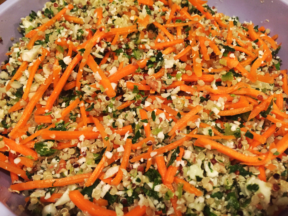 Queen of Quinoa's Detox Salad (modified)
