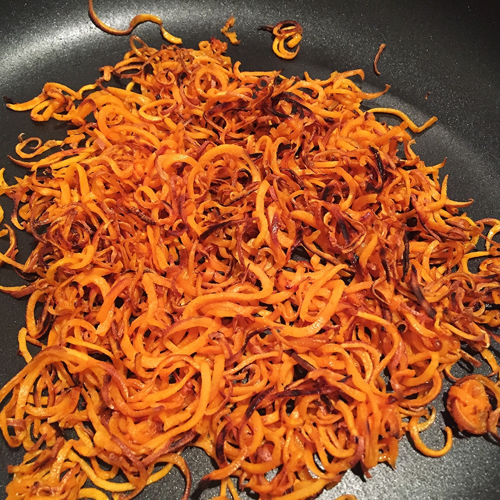 Shoestring Sweet Potato Fries - 2