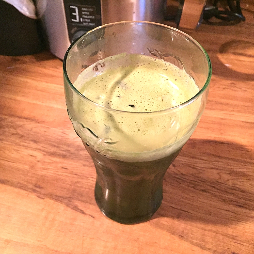 Apple, celery and carrot juice