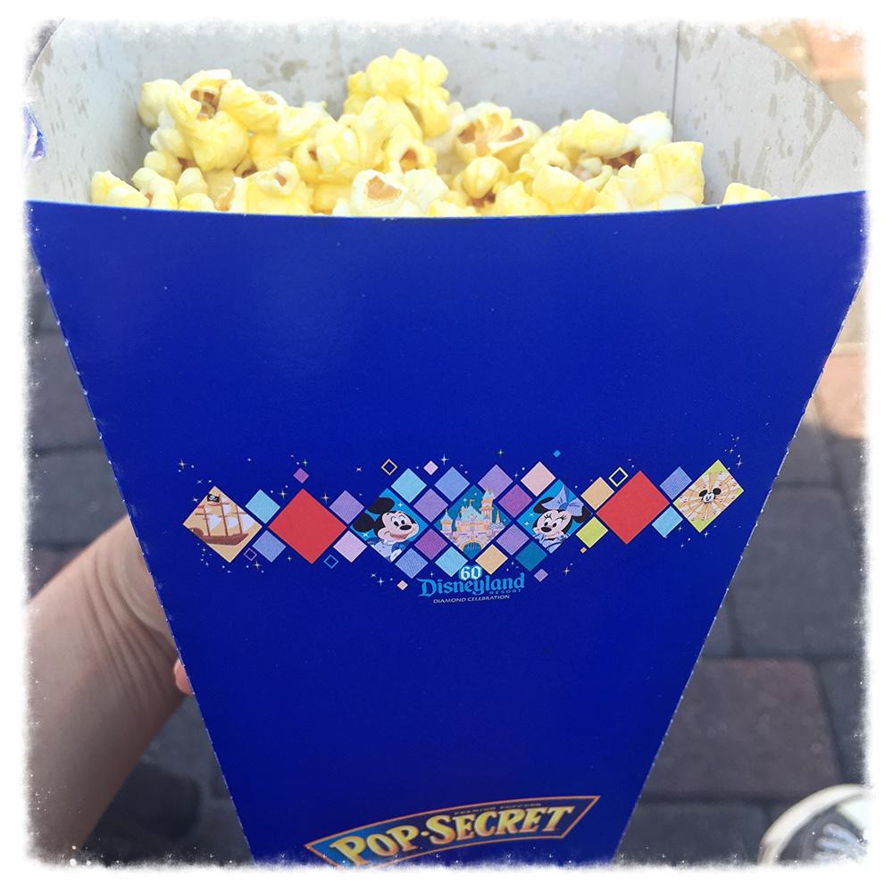 Disneyland's buttered popcorn