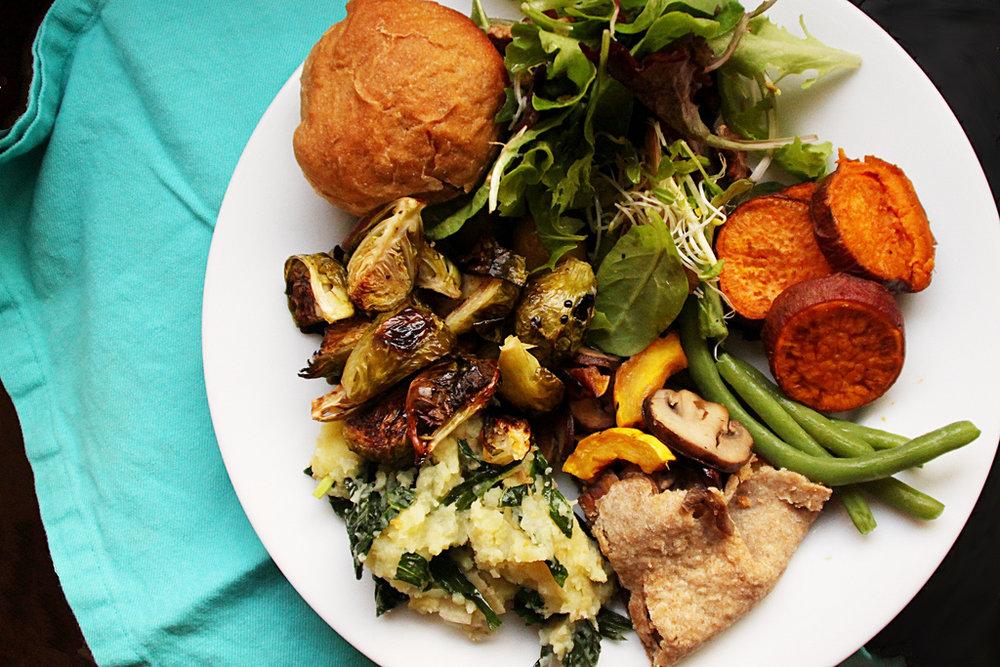 Vegan Thanksgiving Dinner