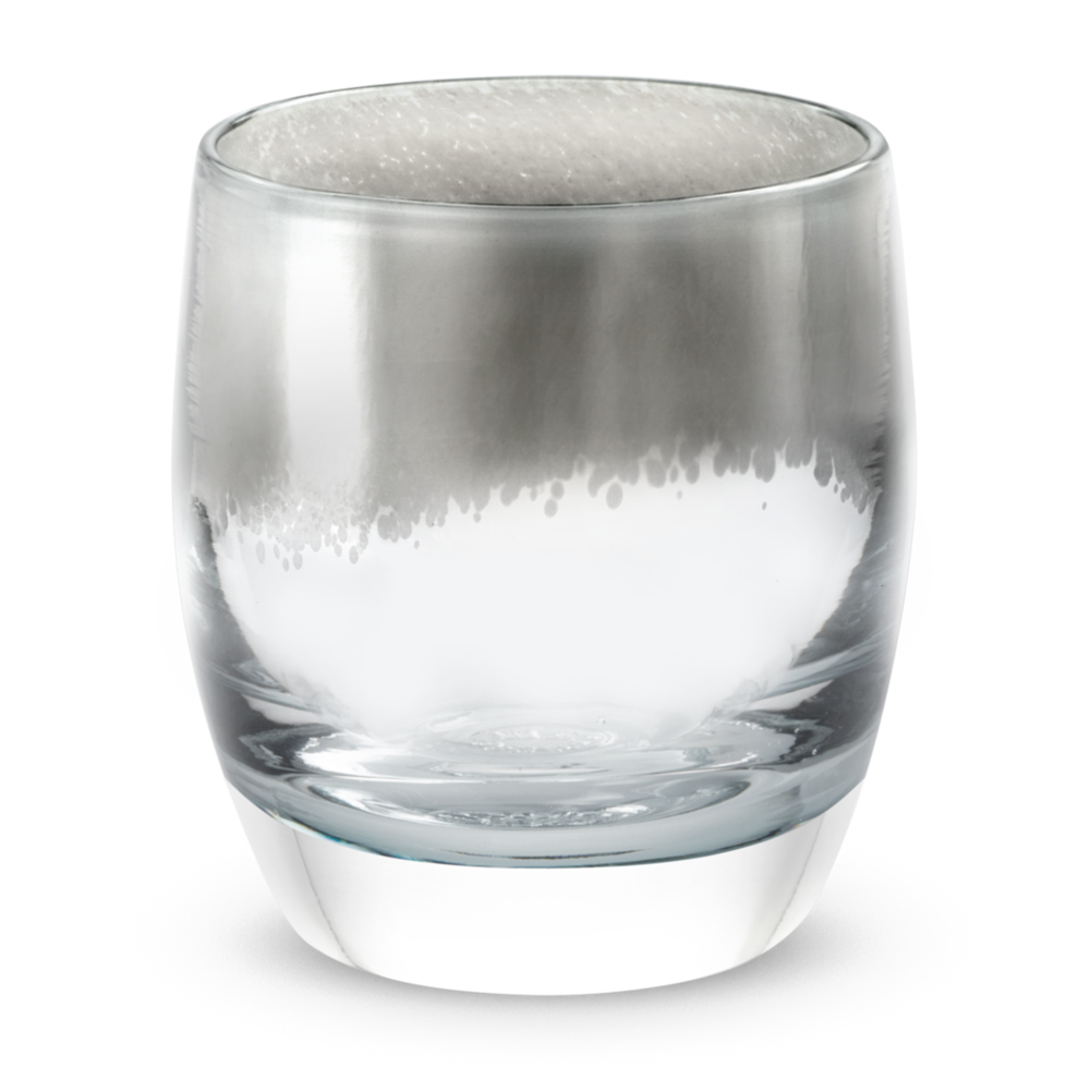 glassbaby's new 'silver lining' votive to help with elephant conservation