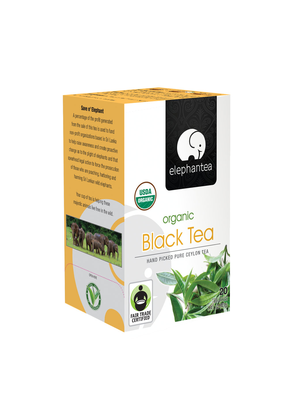 elephantea Organic Black Tea